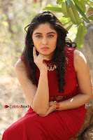 Telugu Actress Zahida Sam Latest Pos in Red Gown at RF Films New Movie Opening  0284.JPG