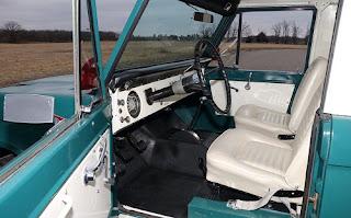1967 Ford Bronco Half Cab Interior
