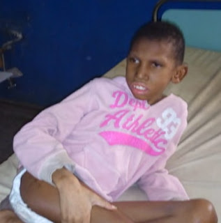 nigerian boy cerebral palsy abandoned mother