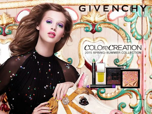 Givenchy Colore Creation Collection For Spring 2015