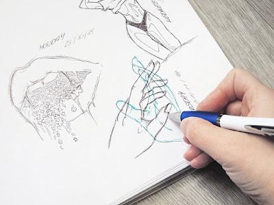 sketching for Bullet Journals