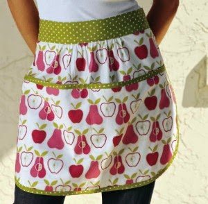 Lark Crafts ~ Feeling Green Apron