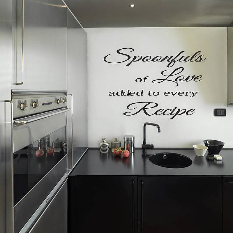 tips and ideas to choosing wall stickers for kitchen or dining