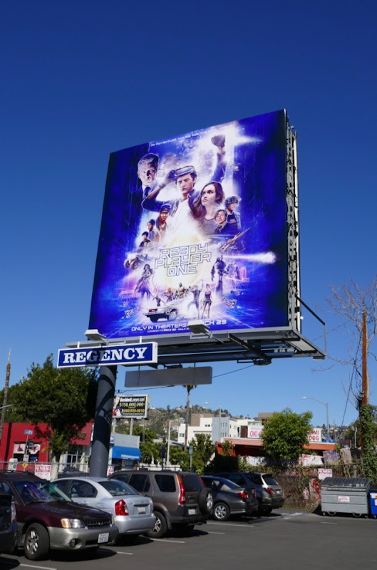 Ready Player One billboard