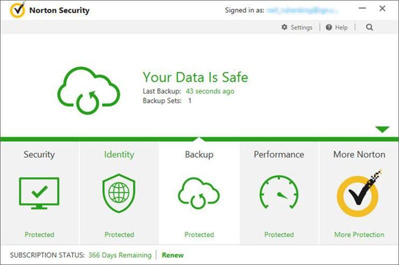 برنامج Symantec Norton Security