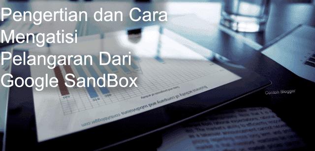 Mengatisi Pelangaran Dari Google SandBox
