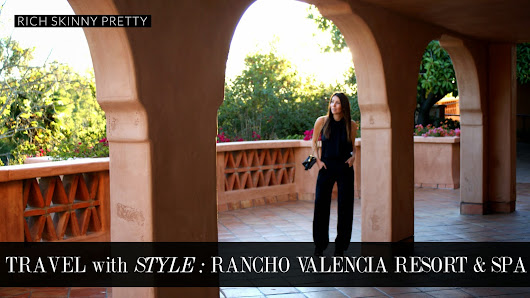 Travel with Style: Rancho Valencia Resort & Spa with the Editor