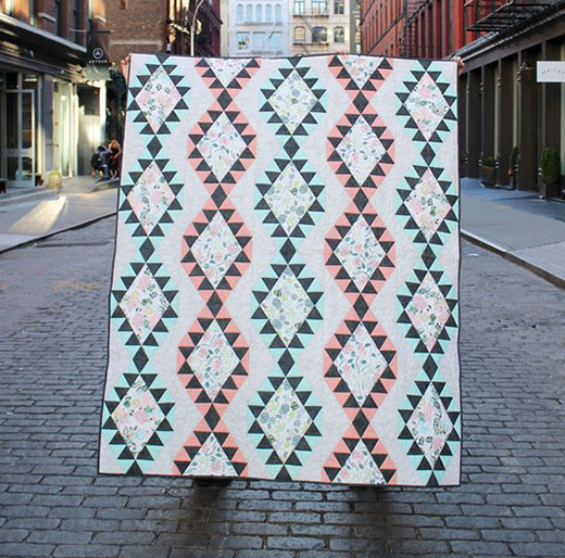 Mojave Quilt Free Pattern