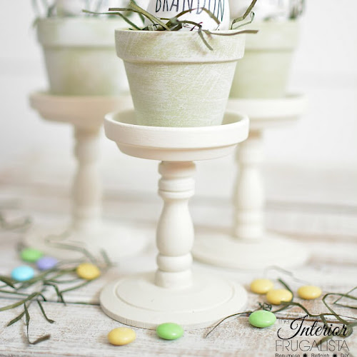DIY French Country Place Holders with Rae Dunn Inspired Easter Eggs