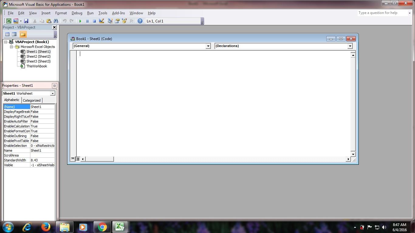 Membuat Tanda Warna Cell Dengan Vba Pada Microsoft Excel