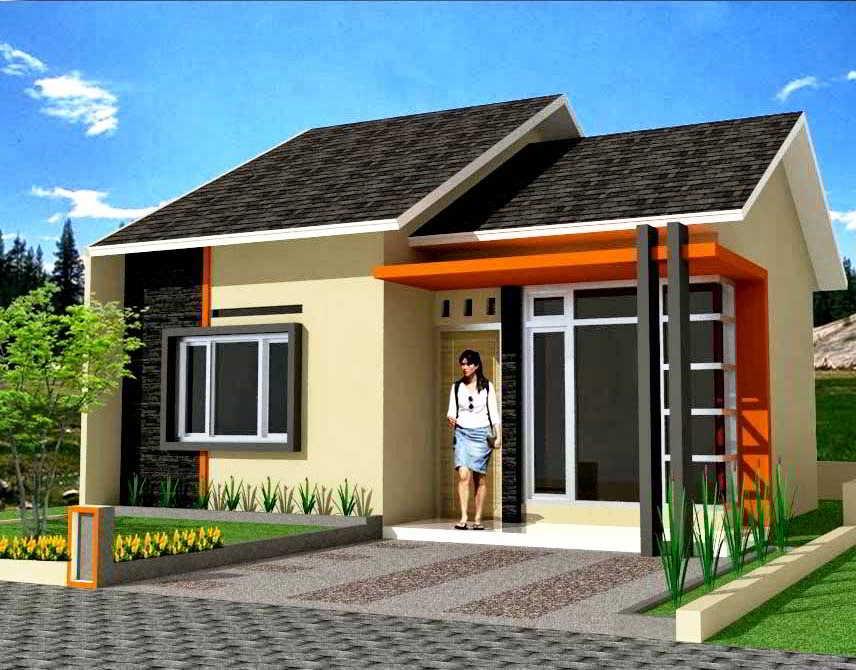 ツ 52 Desain Rumah Minimalis Tampak Depan 1 Lantai Modern Sederhana