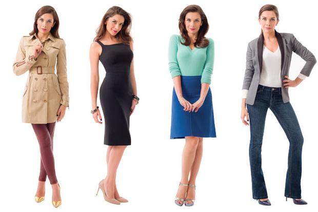 como vestir para parecer más delgada
