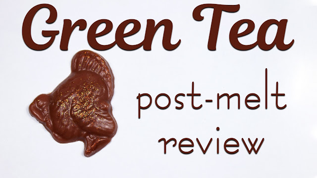 Vibrant Vinyls Green Tea | Post Melt Review