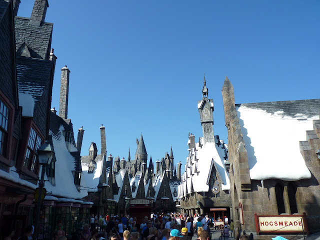 parque do Mundo do Harry Potter em Orlando
