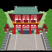 近江神宮のイラスト