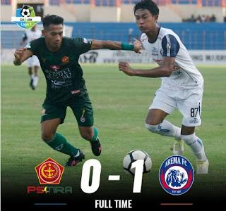 Arema FC Benamkan PS Tira di Dasar Klasemen