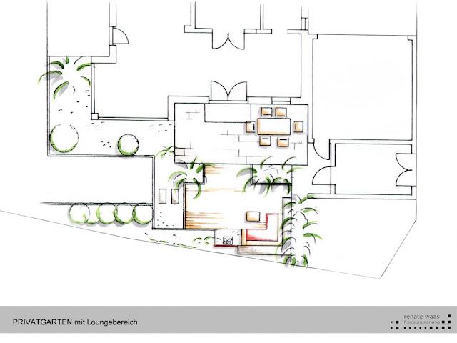 Gartenplan für eine junge Familie in München
