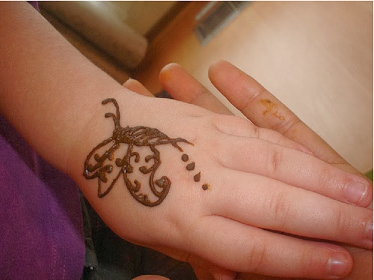Hair Style Easy Mehndi Design For Kids Hands Pictures 2013 2014
