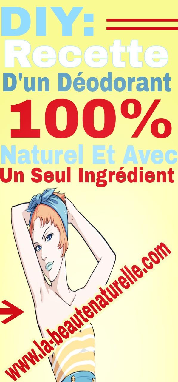 DIY: recette d'un déodorant 100% naturel et avec un seul ingrédient