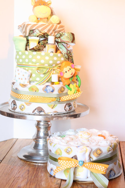 A Little Junk In My Trunk How To Make A Diaper Cake