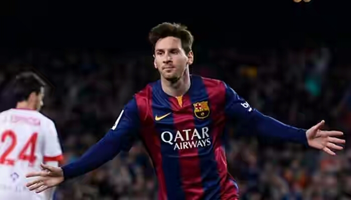 Barcelona Celebrates as Messi Reach 500th Club Goal