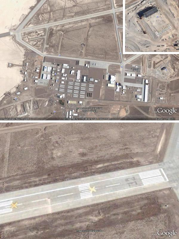 Esoteric Synaptic Events: Area 51: the Google Earth Tour