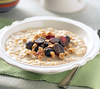 Fruit and Nut Oatmeal Recipe