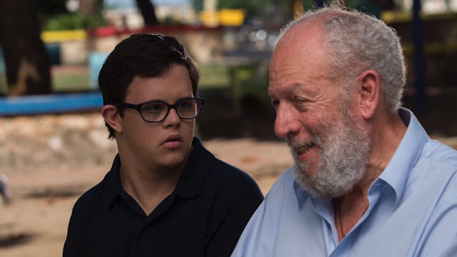 Escena. Actores Freddy Ginebra y Guillermo Finke
