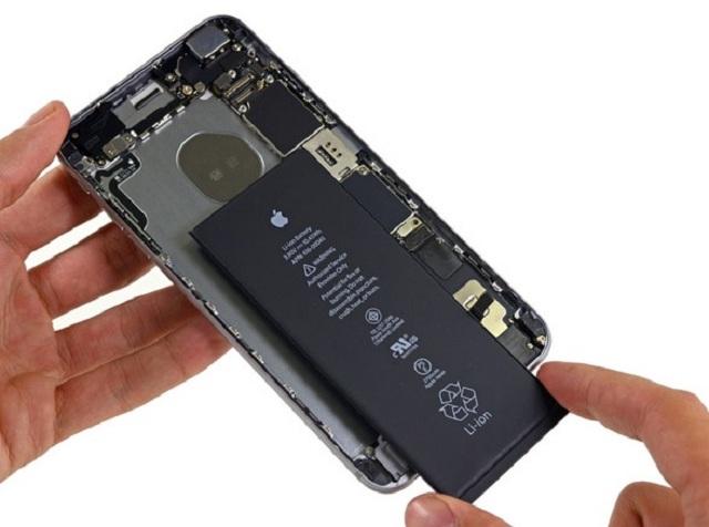 thay pin iphone 6 plus lay ngay