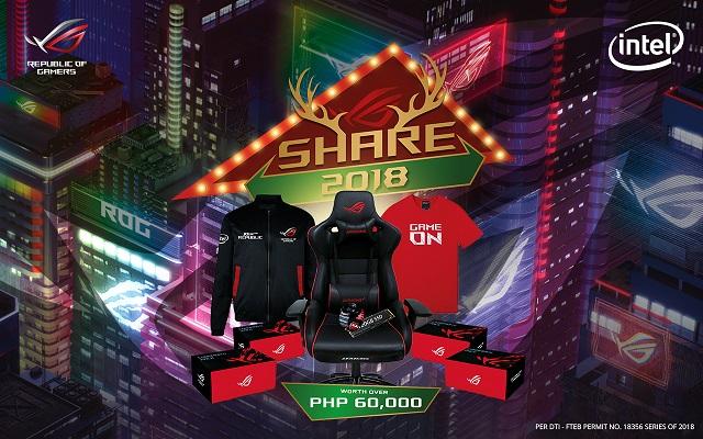 ASUS Share 2018 Christmas Promo ROG