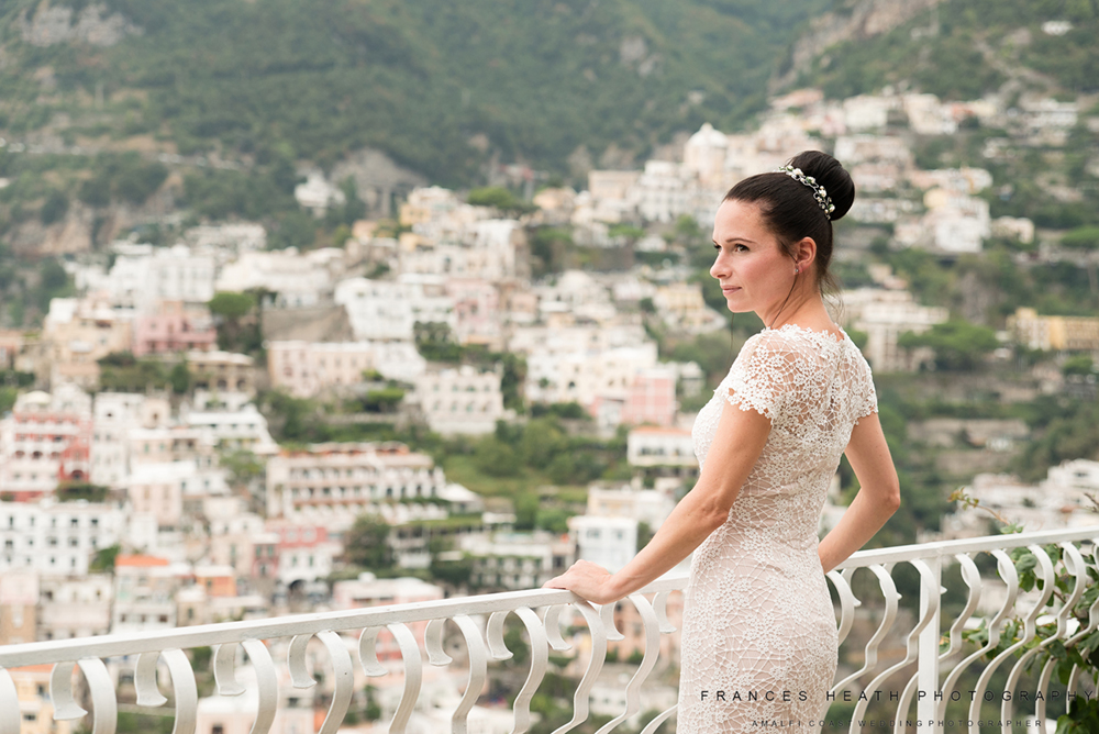Bride in Positano