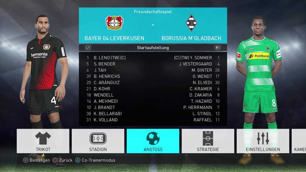 PES 2018 PC/PS4 FBNZ Option File 2018 v1.5 AIO by Cristiano92