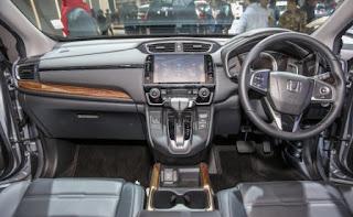 Nội thất CRV Honda Turbo