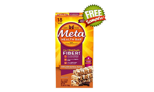 Meta Health Fiber Bar FREE Sample, Meta Health, Meta Health Fiber Bar