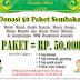 Donasi 50 Paket Sembako Ramadhan 1439 H