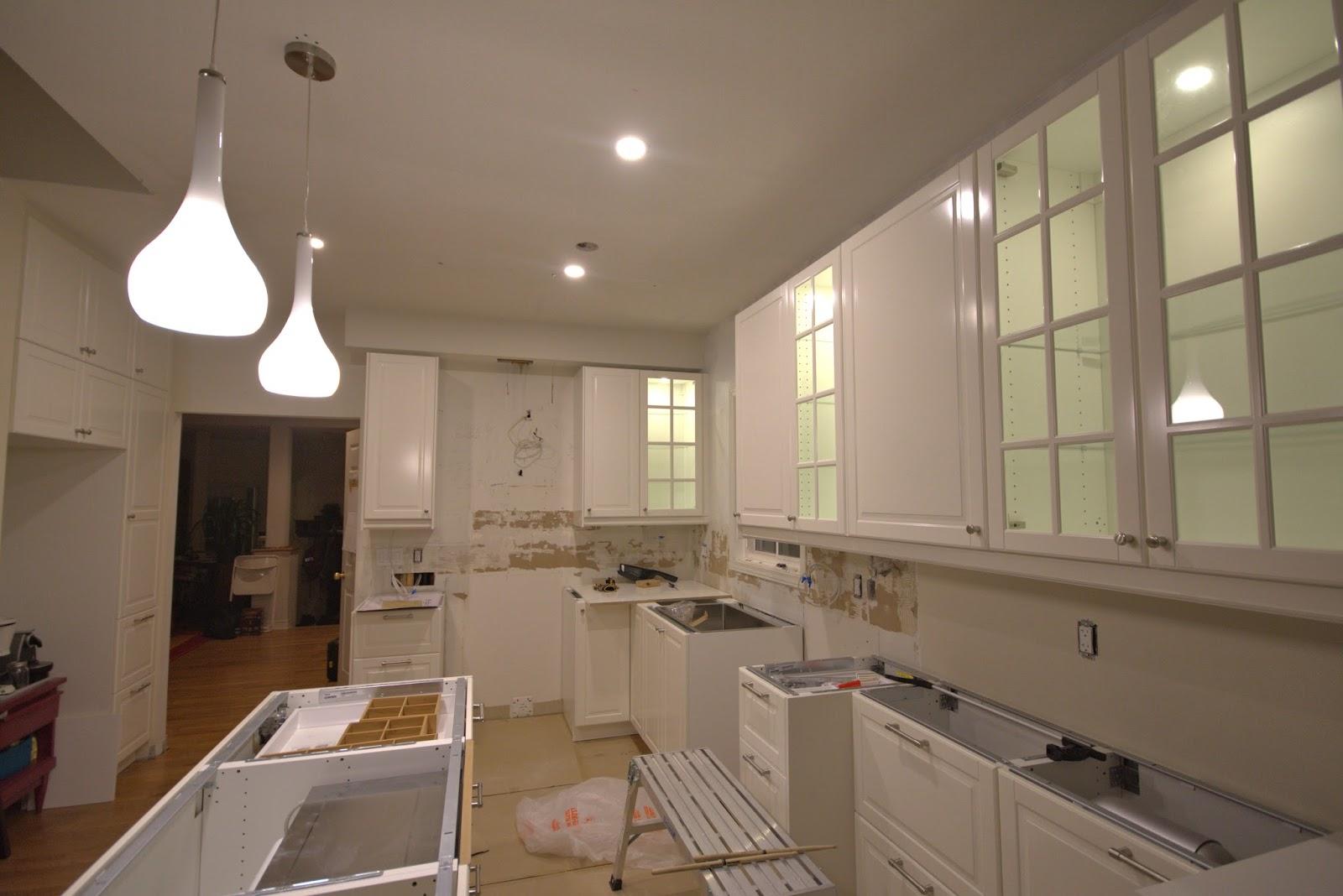 Kitchen Puck Lights