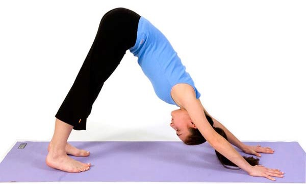 10 Yoga Poses for Shaping Thighs - downward facing dog