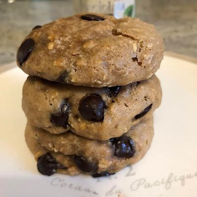 Cookies à la Nocciolata Bianca etpépites de chocolat