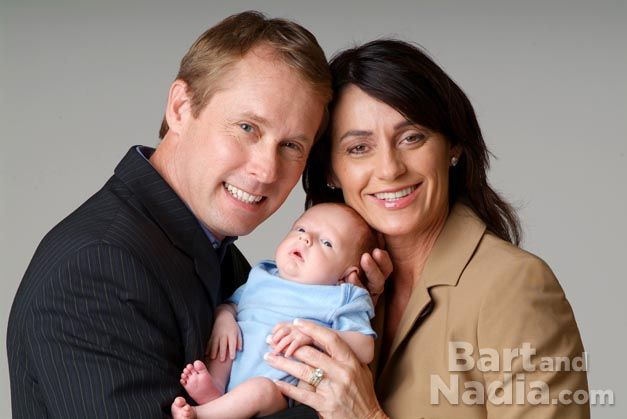 Image: Nadia Comaneci and Bart Connor have a boy