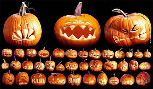 Pumpkin arts: Jack-o-lanterns