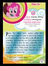 My Little Pony Pinkie Pie Series 5 Trading Card