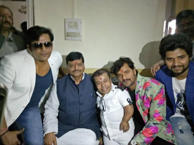 Khesari Lal Yadav film 'Babri Masjid' Muhurat