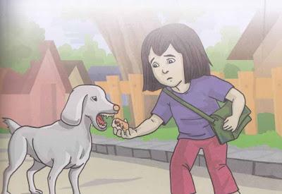Dongeng Menolong Seekor Anjing