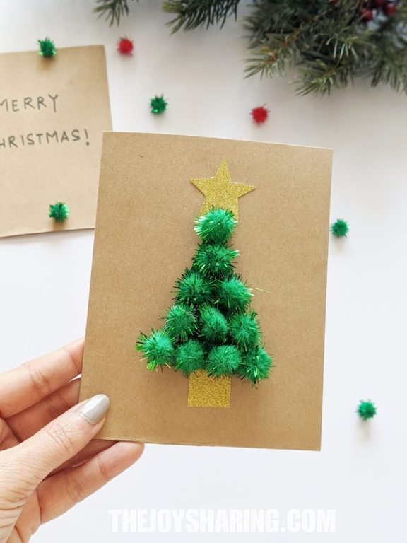 Christmas Card Ideas for Preschoolers