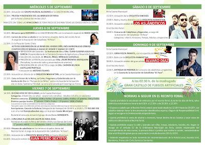 FIESTA DEL VERDEO 2018 - ARAHAL  - Programa General de la Fiesta