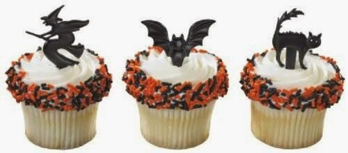easy to do but fancy looking Halloween cupcakes