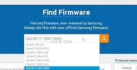 download firmware Samsung GALAXY J1