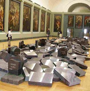 art contemporain Louvre