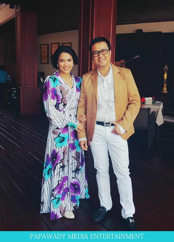 Aye Myat Thu In Nga Pali Beach and Shooting Scenes , Fashion Dress