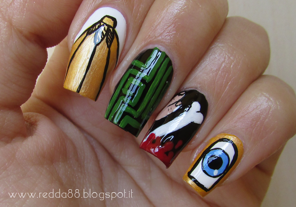 Harry Potter and the Goblet of Fire nail art